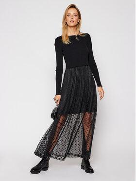 Guess Guess Set rochie de vară și pulover Sadia W0BK63 KA6I0 Negru Regular Fit