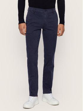 Boss Boss Текстилни панталони Schino 50379154 Тъмносин Regular Fit