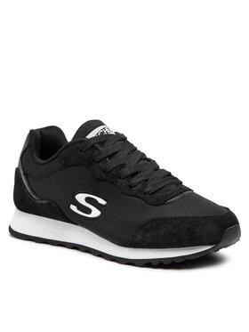 Skechers Skechers Sneakersy Vibe'In 155354/BKW Czarny
