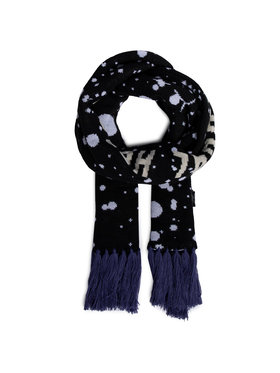 Local Heroes Local Heroes Sál Astro Scarf AW2021SCARF001 Fekete