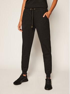 Trussardi Jeans Trussardi Jeans Teplákové kalhoty 56P00215 Černá Regular Fit