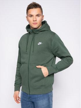 Nike Nike Bluză Sportswear Club Fleece BV2645 Verde Standard Fit
