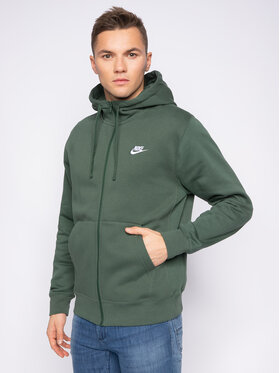 Nike Nike Felpa Sportswear Club Fleece BV2645 Verde Standard Fit