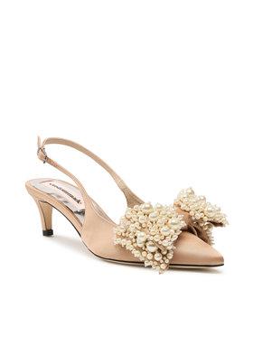 Custommade Custommade Sandale Alima Pearl 999623017 Bež