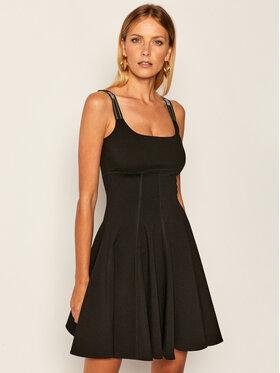 Versace Jeans Couture Versace Jeans Couture Лятна рокля D2HZA412 Черен Regular Fit