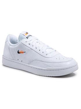 Nike Nike Boty Court Vintage Prem CT1726 100 Bílá
