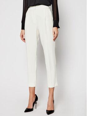 Marella Marella Kalhoty z materiálu Izabel 31310511200 Béžová Regular Fit