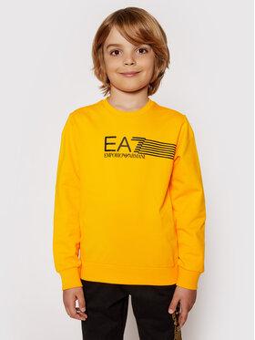 EA7 Emporio Armani EA7 Emporio Armani Bluza 3KBM55 BJ05Z 1604 Pomarańczowy Regular Fit