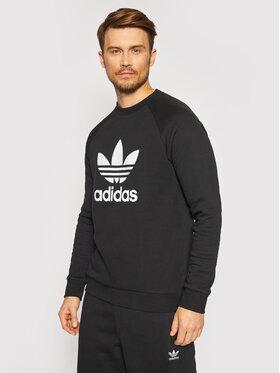 adidas adidas Bluză adicolor Classics Treofil H06651 Negru Regular Fit