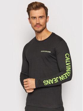 Calvin Klein Jeans Calvin Klein Jeans Longsleeve J30J316884 Czarny Regular Fit