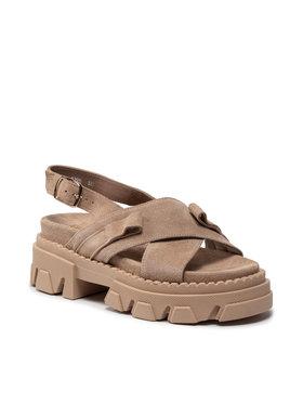 Carinii Carinii Sandále B7232 Béžová