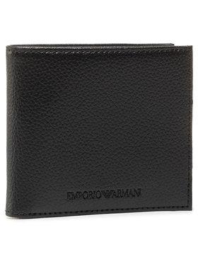 Emporio Armani Emporio Armani Veľká pánska peňaženka Y4R168 YEW1E 81072 Čierna