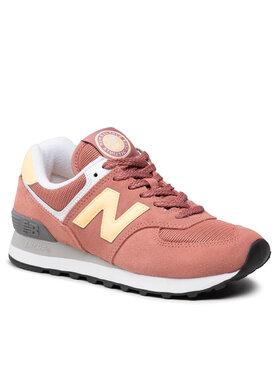 New Balance New Balance Sneakersy WL574HD2 Różowy