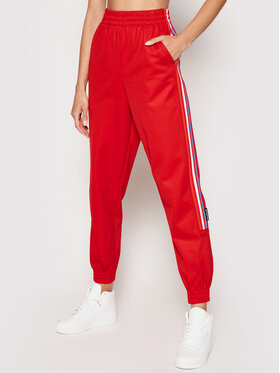 adidas adidas Teplákové kalhoty GN6981 Červená Regular Fit