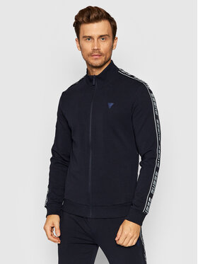 Guess Guess Džemperis U1GA12 K6ZS1 Tamsiai mėlyna Regular Fit