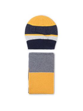 Mayoral Mayoral Комплект шапка и шал тип комин 10643 Жълт