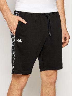 Kappa Kappa Спортни шорти Italo 309013 Черен Regular Fit