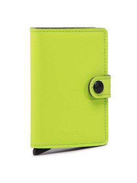 Secrid Secrid Kis női pénztárca Miniwallet MY Zöld