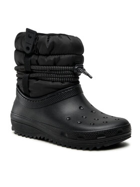 Crocs Crocs Снігоходи Classic Neo Puff Luxe Boot W 207312 Чорний