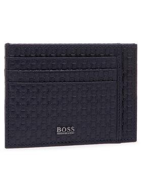Boss Boss Etui pentru carduri Crosstown P 50447015 Bleumarin