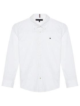Tommy Hilfiger Tommy Hilfiger Риза Oxford KB0KB06964 M Бял Regular Fit