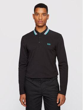 Boss Boss Polo marškinėliai Plisy 50272945 Juoda Regular Fit