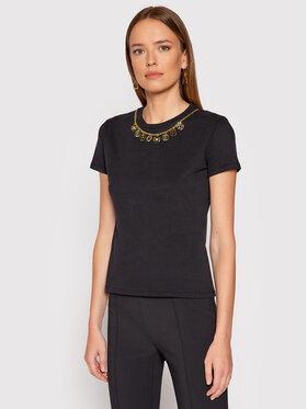 Elisabetta Franchi Elisabetta Franchi T-shirt MA-203-16E2-V175 Crna Regular Fit