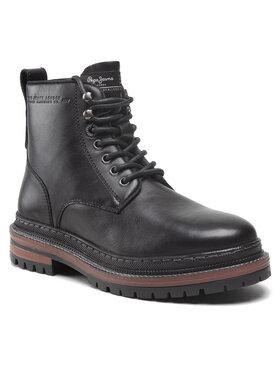 Pepe Jeans Pepe Jeans Turistická obuv Martin Boot PMS50205 Černá