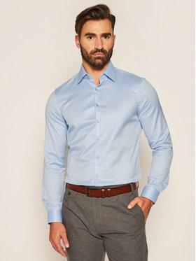 Calvin Klein Calvin Klein Chemise Till Easy Iron K10K103027 Bleu Slim Fit
