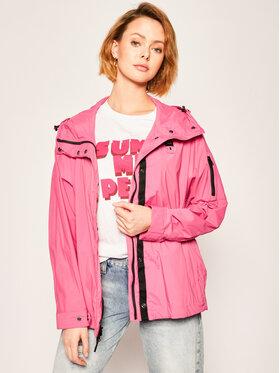Blauer Blauer Parka Cameron Large Sleeve Unlied 20SBLDC04090 005250 Rózsaszín Slim Fit