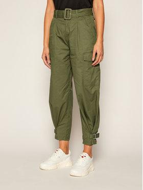 Tommy Jeans Tommy Jeans Παντελόνι υφασμάτινο DW0DW08321 Πράσινο Regular Fit