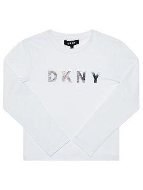 DKNY DKNY Blusa D35Q78 D Bianco Regular Fit