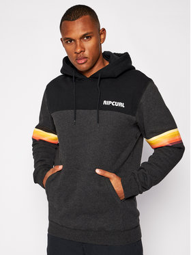 Rip Curl Rip Curl Sweatshirt Mama Stacked CFEXZ4 Schwarz Relaxed Fit