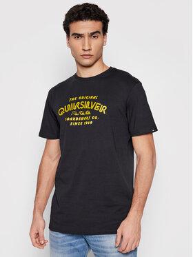 Quiksilver Quiksilver T-Shirt Wilder Mike EQYZT06328 Černá Regular Fit