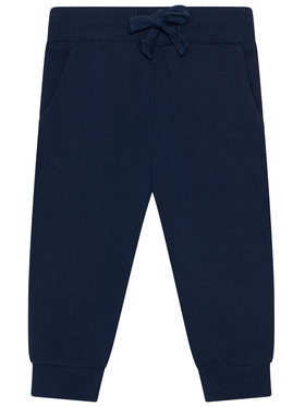 Guess Guess Teplákové kalhoty N93Q17 KAUG0 Tmavomodrá Regular Fit