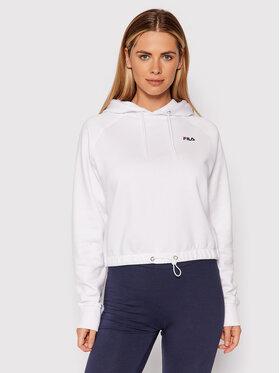 Fila Fila Sweatshirt Eilies 689120 Blanc Cropped Fit