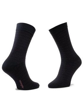 Wrangler Wrangler Unisex ilgų kojinių komplektas (2 poros) Stripe Socks W0ZD78114 Tamsiai mėlyna