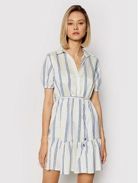 Rinascimento Rinascimento Sukienka letnia CFC0017919002 Biały Regular Fit