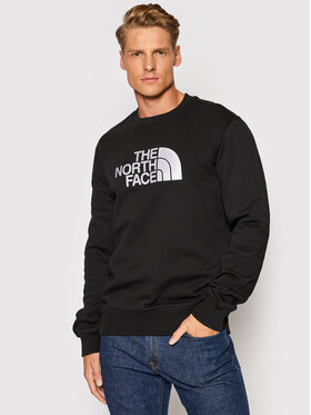 The North Face The North Face Pulóver Drew Peak Crew NF0A4SVRKY41 Fekete Regular Fit