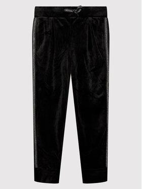 Coccodrillo Coccodrillo Παντελόνι φόρμας ZC1120101GIG Μαύρο Regular Fit