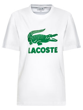 Lacoste Lacoste T-shirt TH2166 Blanc Regular Fit