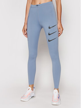 Nike Nike Legginsy Epic Luxe Run Division DA1270 Niebieski Tight Fit