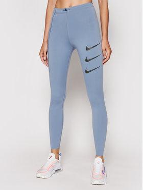 Nike Nike Leginsai Epic Luxe Run Division DA1270 Mėlyna Tight Fit