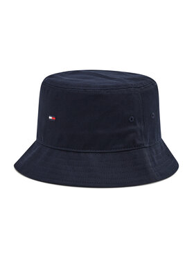 Tommy Hilfiger Tommy Hilfiger Cappello Bucket Classic Flag AW0AW10561 Blu scuro