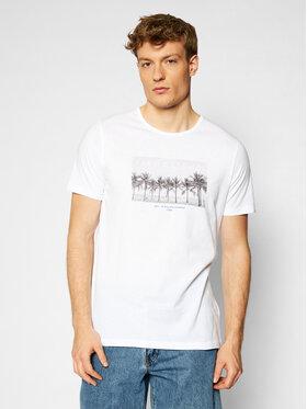 Lee Lee T-shirt Picture L60ZFERR Bianco Regular Fit