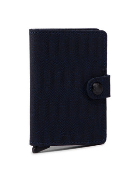 Secrid Secrid Малък мъжки портфейл Miniwallet MDa Тъмносин