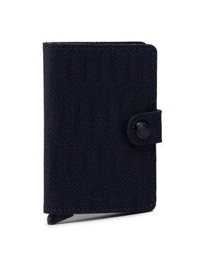 Secrid Secrid Portafoglio piccolo da uomo Miniwallet MDa Blu scuro