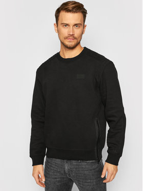 Calvin Klein Jeans Calvin Klein Jeans Pulóver J30J316682 Fekete Regular Fit