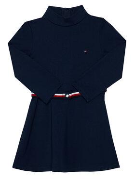 TOMMY HILFIGER TOMMY HILFIGER Vestito da giorno Essential Skater KG0KG05437 M Blu scuro Regular Fit