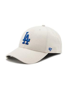 47 Brand 47 Brand Шапка с козирка Los Angeles Dodgers B-MVP12WBV-BN Бежов